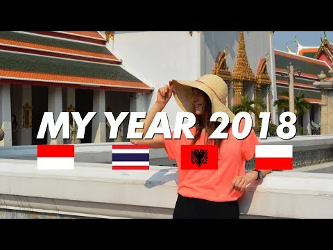 MY YEAR 2018 (Indonesia, Thailand, Albania, Poland) - Globe in the Hat