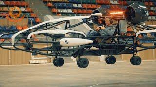 Прототип аэротакси российского стартапа Hoversurf прошел летные испытания