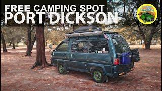 #WildCamping Spot in #PortDickson #Vanlife Malaysia