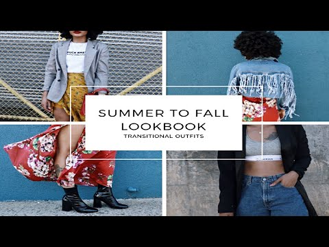 OOTW || Summer to Fall Transition Lookbook