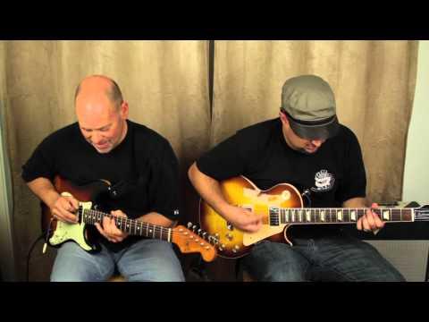 Marty Schwartz and Bob Ryan Improv Guitar Jam - Blues Rock
