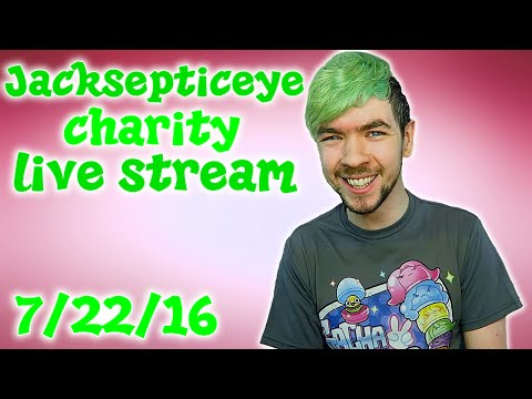 Thumbnail: JackSepticEye Revel4Good Charity Live Stream (w/ Muyskerm, LordMinion777, Foxtrot44 and Wiishu)