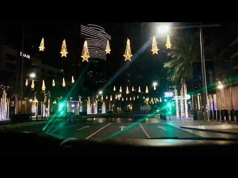 Downtown Dubai Night-view 2020