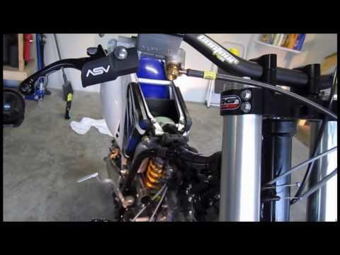 2003 2004 2005 2006 2007 2008 YZ250F Yamaha YZ 250F Throttle Cable