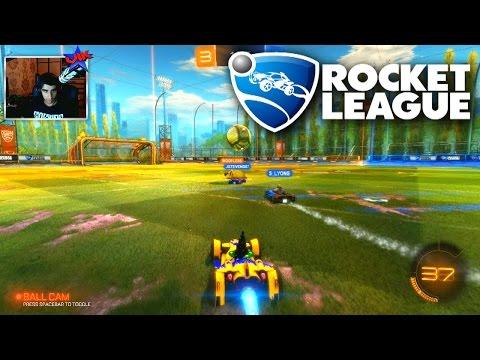 Rocket League #1 'BACKFLIP GOAL!' with Vikkstar & Woofless