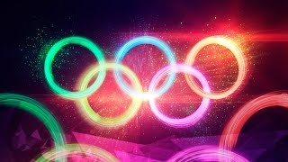 Dramatic Particle Explosion Olympic Rings Artwork - Photoshop CC | Educational