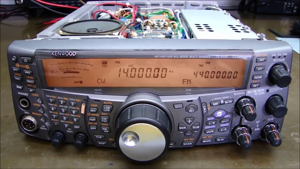 ALPHA TELECOM: KENWOOD TS-2000 REVISÃO PÓS COMPRA