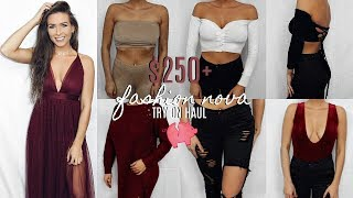 $250+ FASHION NOVA TRY ON HAUL - ROBBED ME BEFORE THE NEW YEAR!