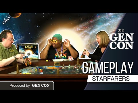 Download In-Depth Preview of CATAN - Starfarers | Produced by Gen Con