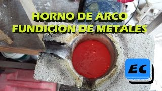 Horno de Arco para fundir metales Electric arc furnace
