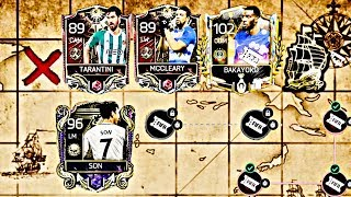 Treasure Hunts for Captain Master Son /Biggest Masters and Legend Rewards Opening fifa mobile