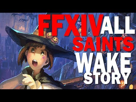 Let's Play FFXIV All Saints Wake 2018 All Cut Scenes and Dialog [No Commentary]
