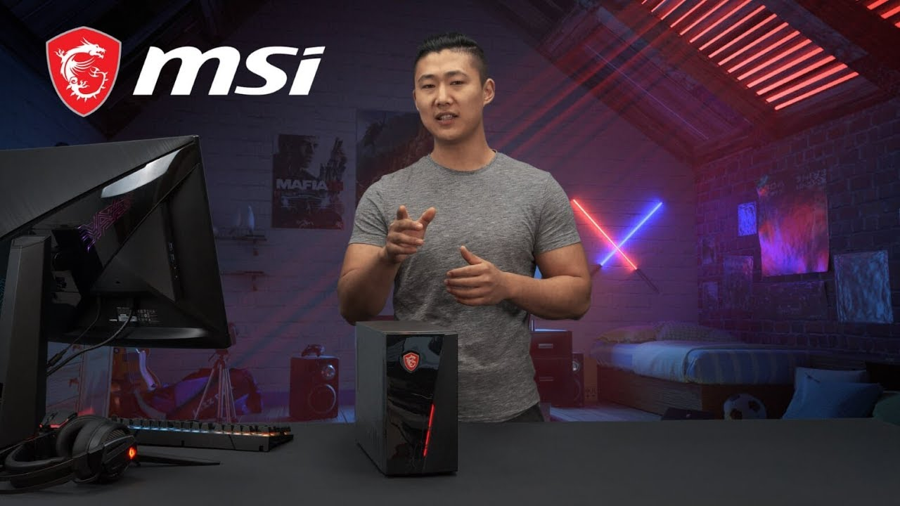 The powerful Infinite S 9th gaming desktop | only 10 liters in volume | MSI