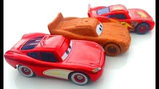 Тачки Молния Маквин снова меняет цвет Мультик про Машинки для Детей Cars McQueen