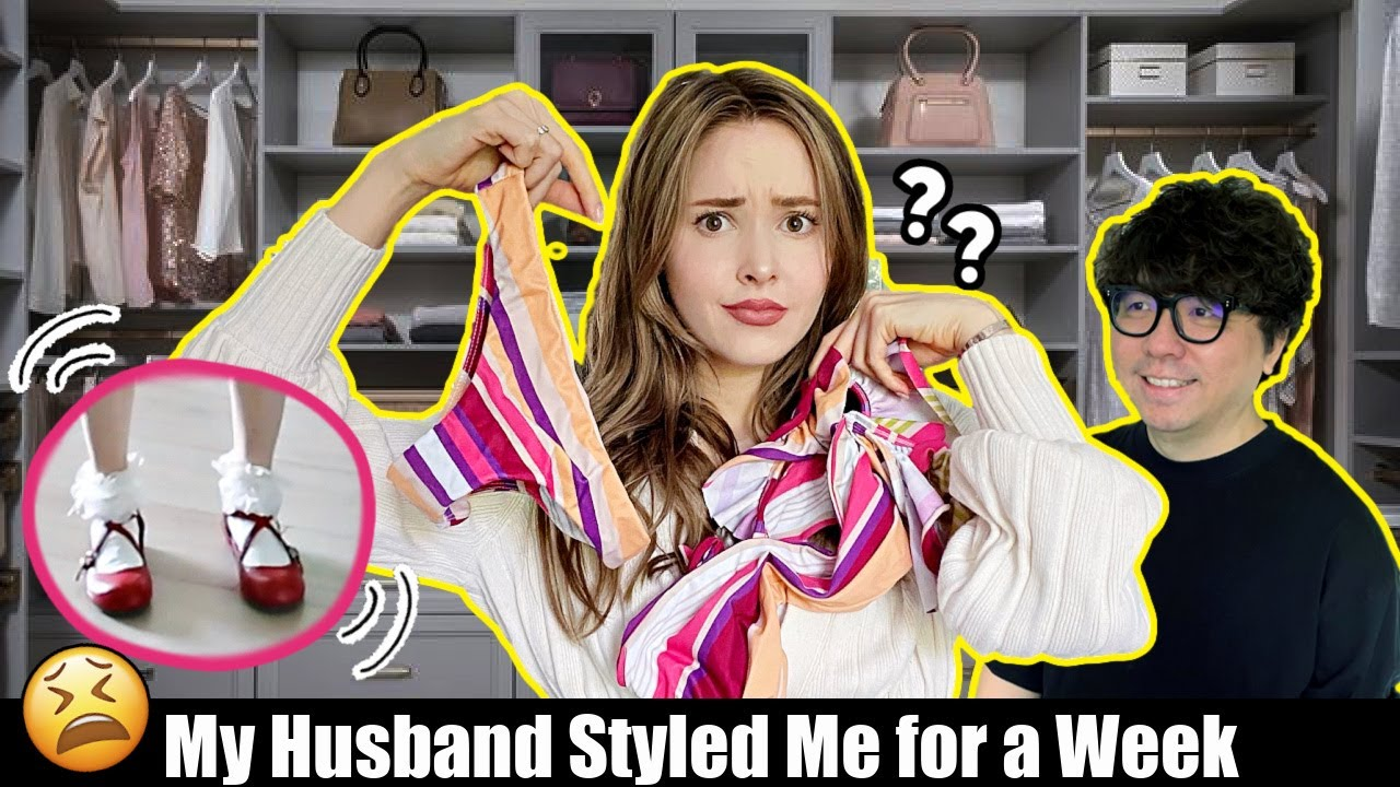 My Husband Picks My Outfits for a Week