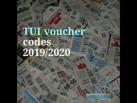 TUI voucher codes 2019 & 2020