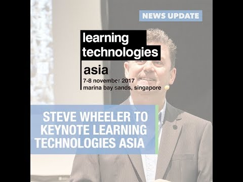 Steve Wheeler to keynote LT Asia