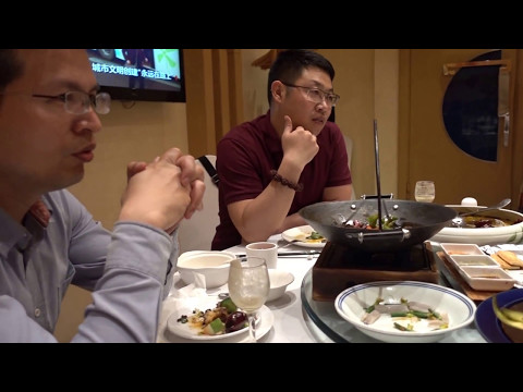 Aruna & Hari Sharma Business Dinner Blue Horizon Zhongdinglou Restaurant, Beijing Apr 27, 2017