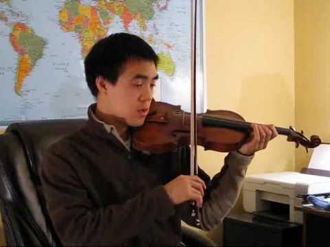 Red Violin Gypsy Theme: Violin Tutorial