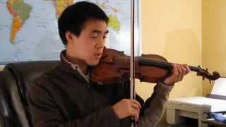 Red Violin Gypsy Theme: Violin Tutorial