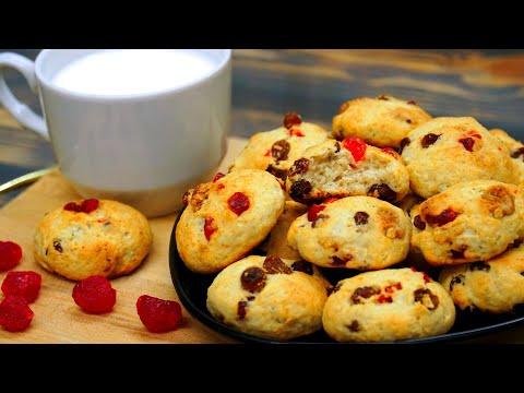 ТВОРОЖНОЕ Печенье к Чаю | 5 мин и Готово! | Кулинарим с Таней