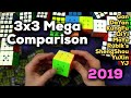 """Speed Cube MEGA Comparison for 2019 - Finding the """"Best"""" Cube"""