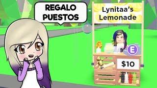 REGALO PUESTOS DE LIMONADA DE ROBLOX ADOPT ME