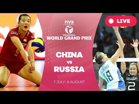 China v Russia - Group 1: 2017 FIVB Volleyball World Grand Prix