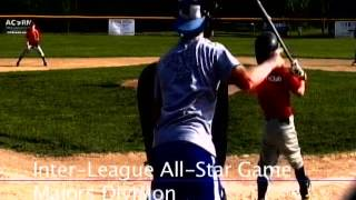 Acton Boxborough Youth Baseball All Star Game Majors Aug 2011