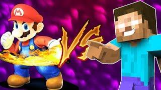 Mario VS Steve ( ANIMACIÓN ÉPICA )