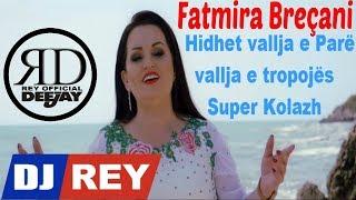 Fatmira Breçani - Hidhet vallja e Parë & vallja e tropojës Super Kolazh Alegro (Live Official)