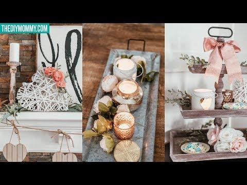 DIY Valentines Day Dollar Store Room Decor