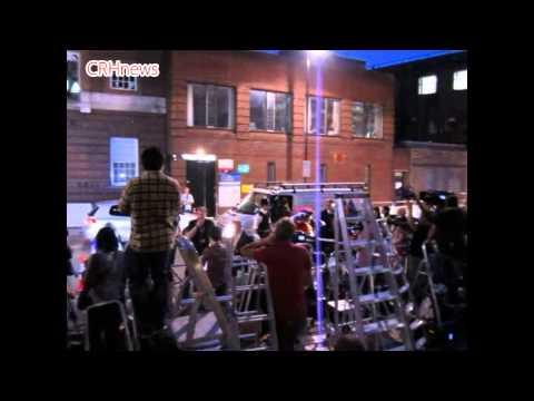 CRHnews -  Town Crier Tony Appleton tells media circus of Royal baby Prince George