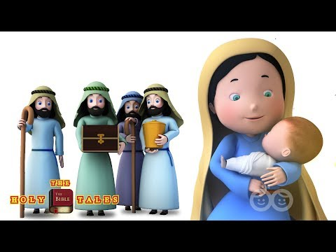 Away in a Manger   Christmas Songs   Bible Songs For Kids and Children   Holy Tales Bible Stories