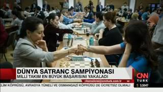 Dünya Takımlar Şampiyonası CNN Türk Ana Haber'de...