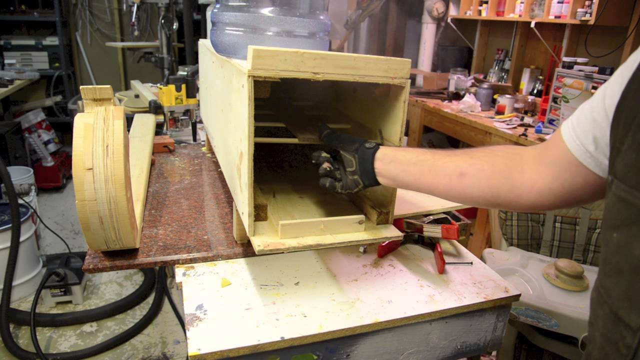 A Steambox For Bending Wood And Luthier Work Steamer Youtube