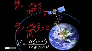 2-Body Equation of Motion & Elliptical Orbit Geometry