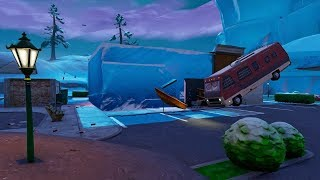 UNDERNEATH GREASY GROVE - Fortnite Battle Royale New Location