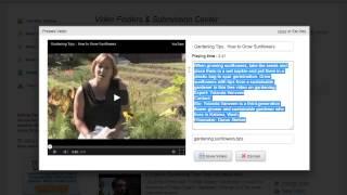 Mass Video Upload Software Video Application