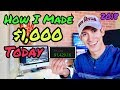 How I Made +$1,000 Profit In 1 Day Trading Stocks | Investing 101