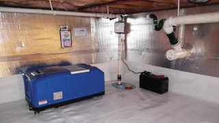Four-Step Solution for Moldy Crawl Spaces | Doug Lacey's Basement Systems