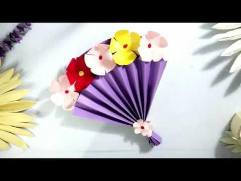 Bahan Untuk Poster Hari Ibu Cara Membuat Kartu Ucapan 3d Untuk Hari Ibu Diy Mother S Day Card Ide Kreatif Kado Hari Ibu Youtube