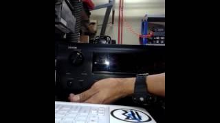 Resetting default  denon amp AVR 2310