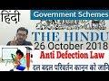 26 October 2018 The Hindu Newspaper Analysis in Hindi (हिंदी में) - News Current Affairs Today IQ