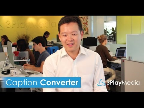 Watch an Introduction to Our Free Caption Format Converter
