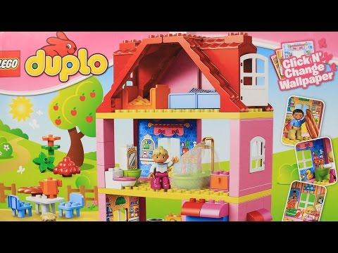Family House / Кукольный домик - Legoville - Lego Duplo / Лего - 10505