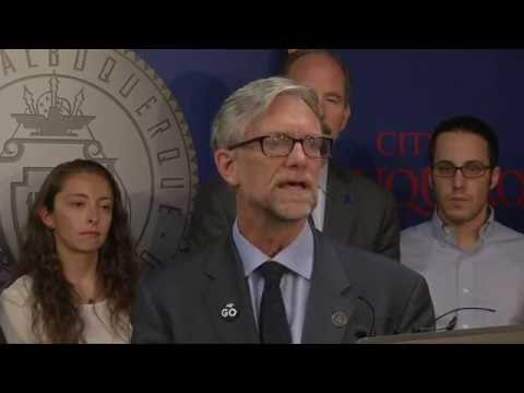 Mayor Richard J. Berry, City of Albuquerque  News Conference  7--28-16
