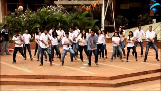 Gangnam Style flash mob this Sympulse in India