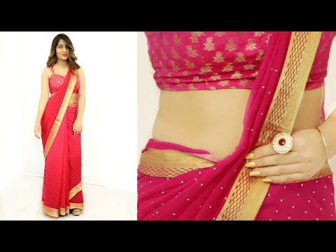 2 Mins में साड़ी पहनने का सही तरीका - How To Wear Saree Perfectly | Anaysa