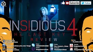 SE05EP14: Insidious 4 The Last Key Review